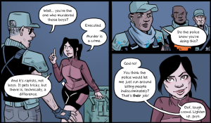 Mary Kim is the real hero of this comic.